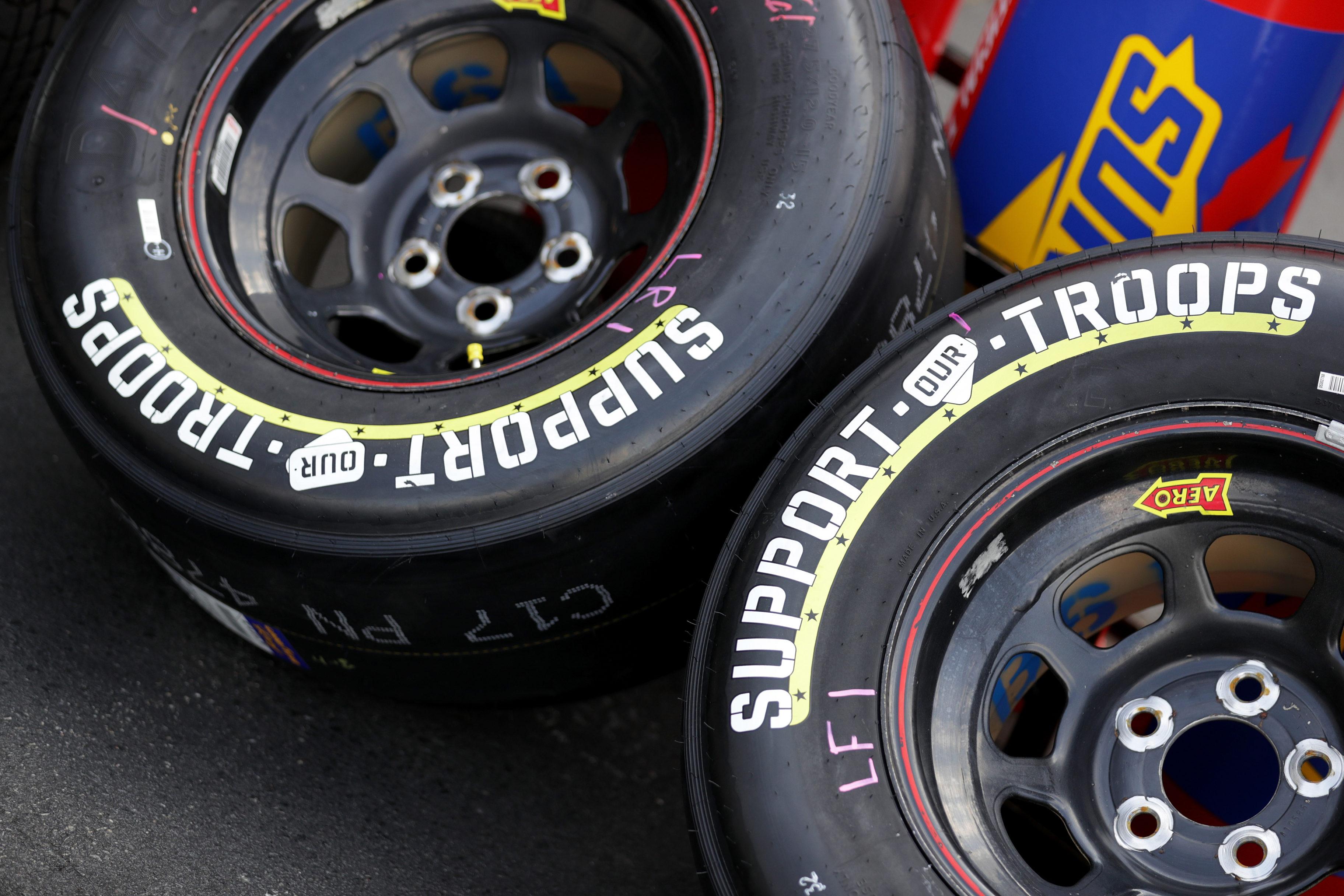 Goodyear Tires - 2018 Coca-Cola 600