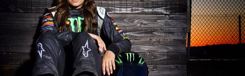 "Kevin Harvick on Hailie Deegan: ""She has the most potential of a female racer."""