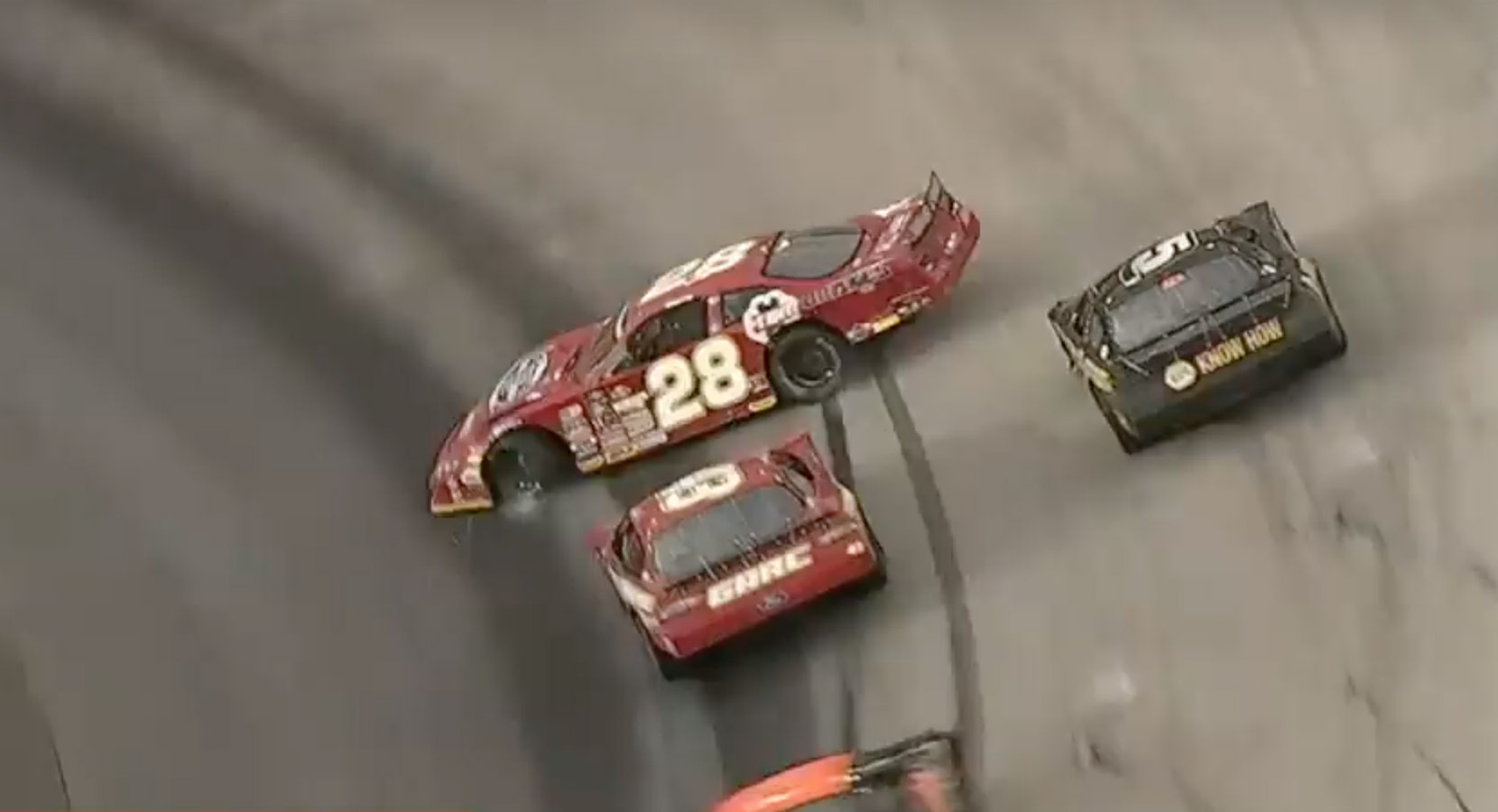 Jack Smith and Justin South at Bristol Motor Speedway - CRA