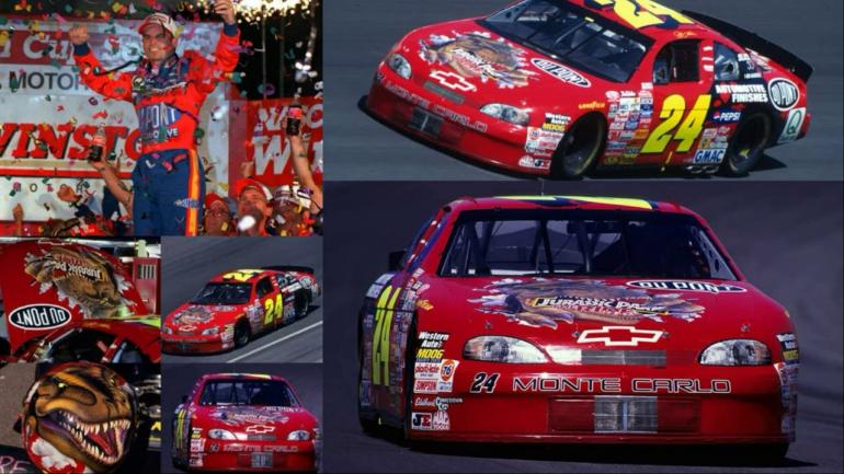 Jeff Gordon - T-Rex Chassis - 1997