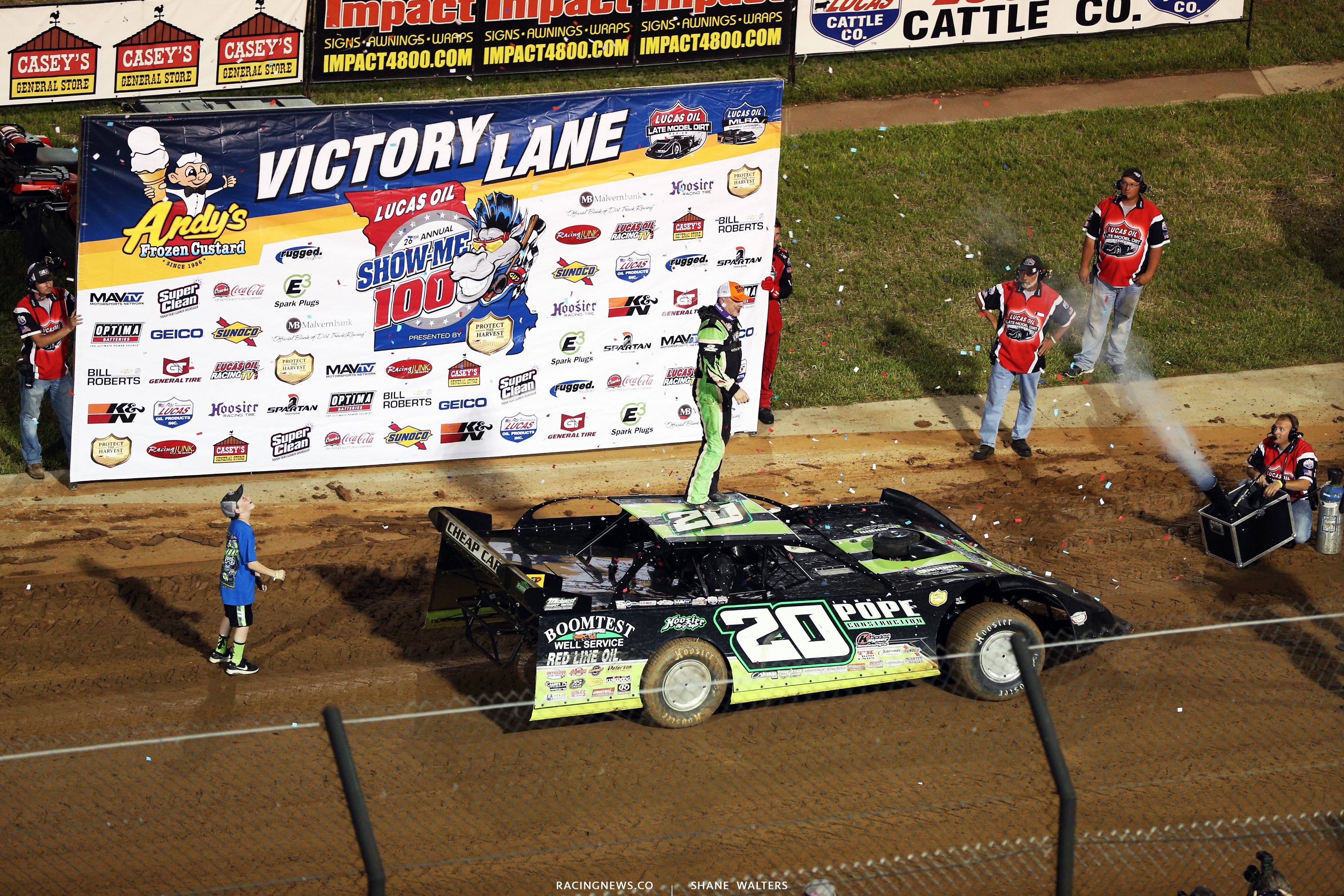 Jimmy Owens wins at Lucas Oil Speedway 8572