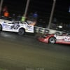 Jonathan Davenport and Bobby Pierce at Deer Creek Speedway 7242