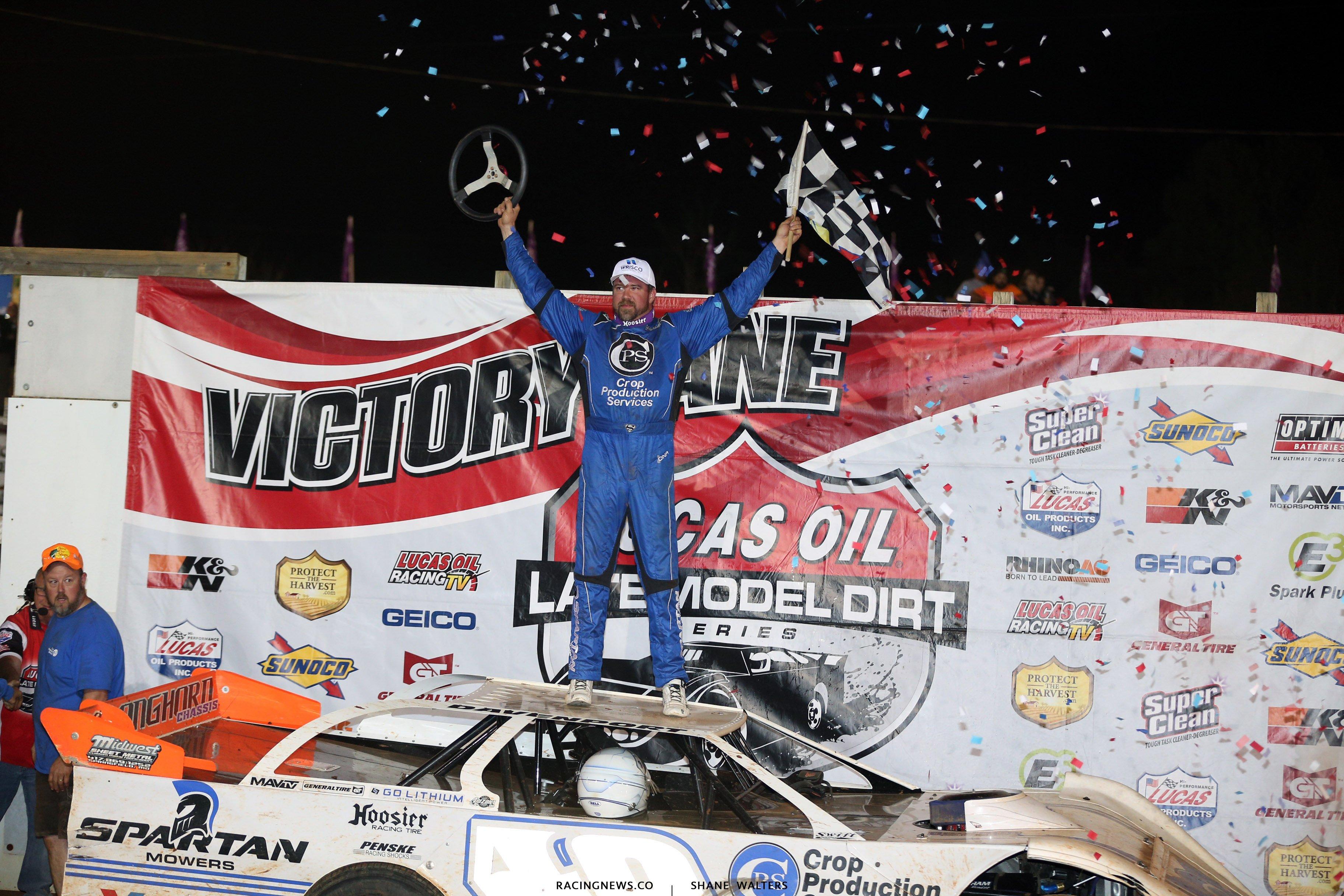 Jonathan Davenport wins at Tazewell Speedway 6067