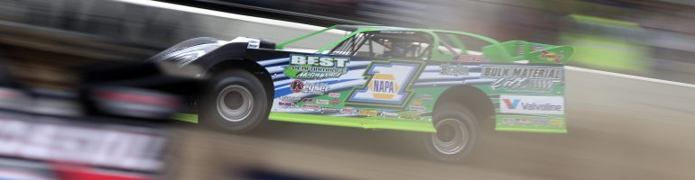 Randall Edwards talks dirt late model setup