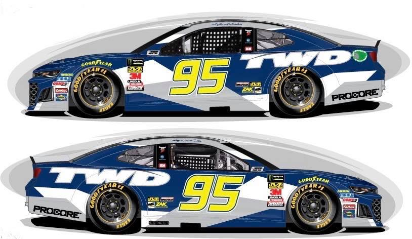 Kasey Kahne - Tommy Williams Drywall paint scheme released