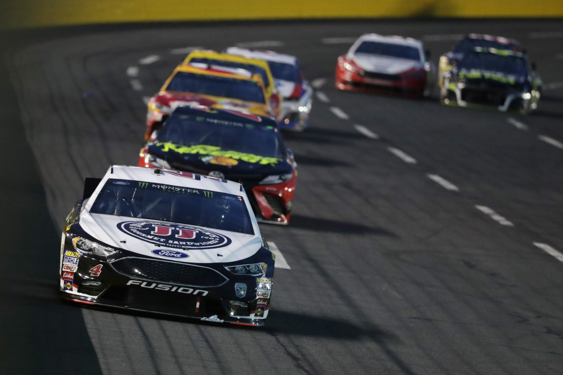 Kevin Harvick at Charlotte Motor Speedway