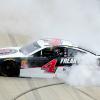 Kevin Harvick burnout - Dover International Speedway