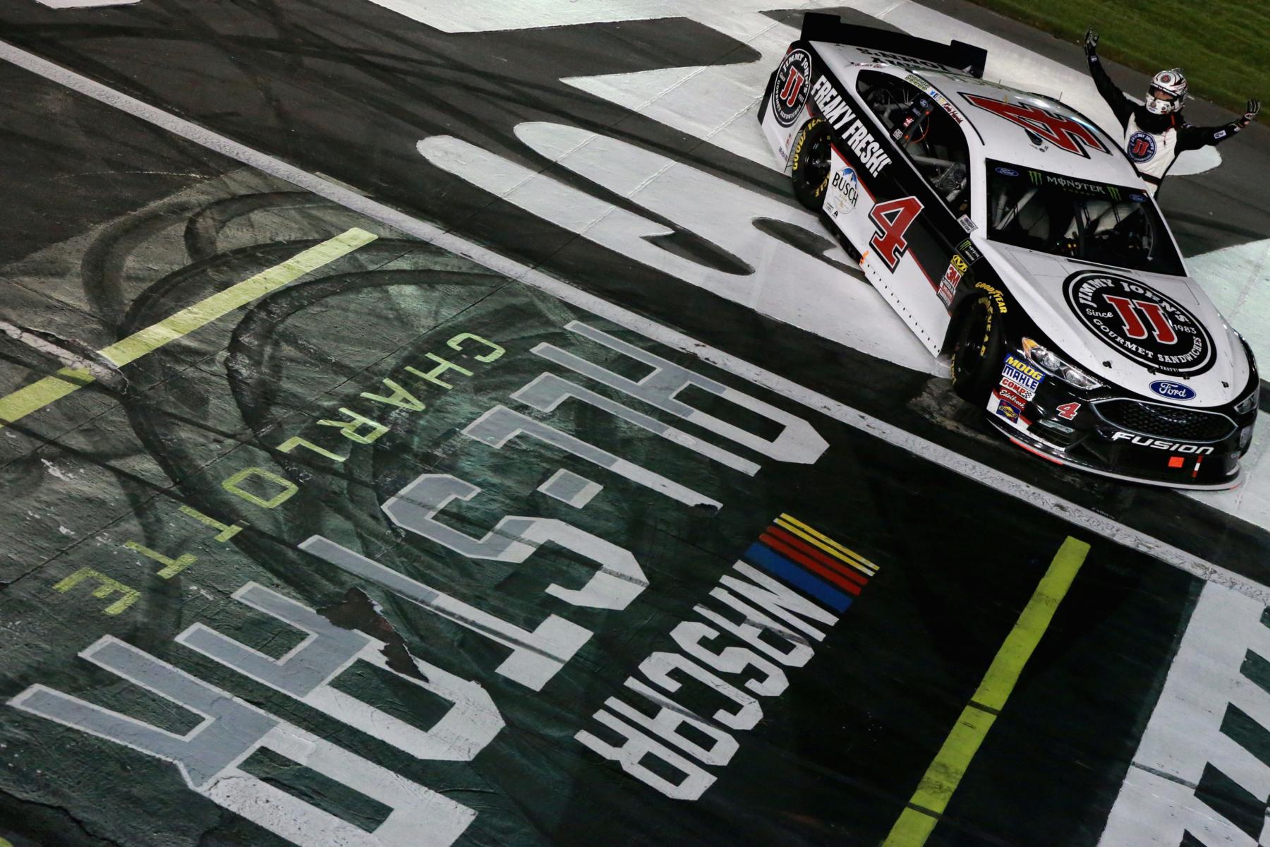 Kevin Harvick wins the NASCAR All-Star Race