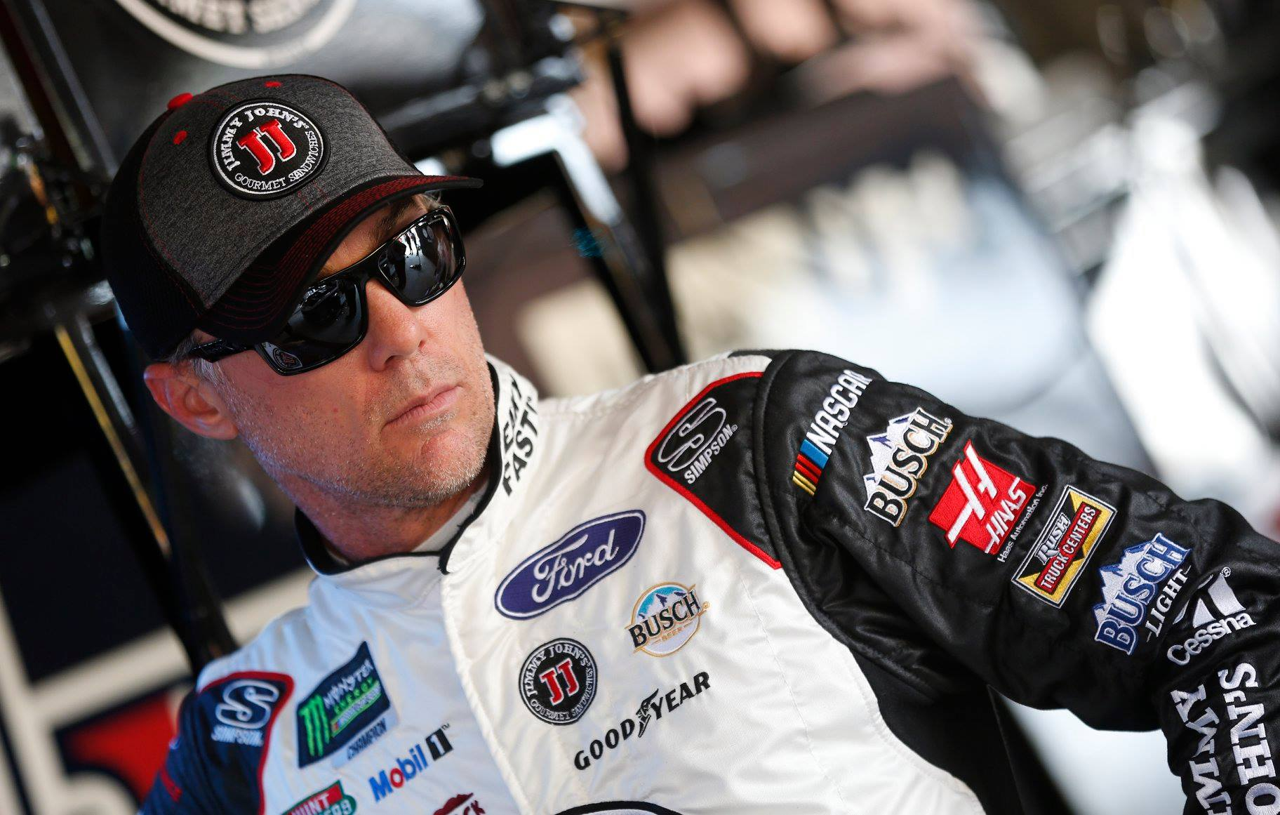 Nascar Pole Position >> Kevin Harvick's car chief ejected from Charlotte Motor Speedway - Racing News