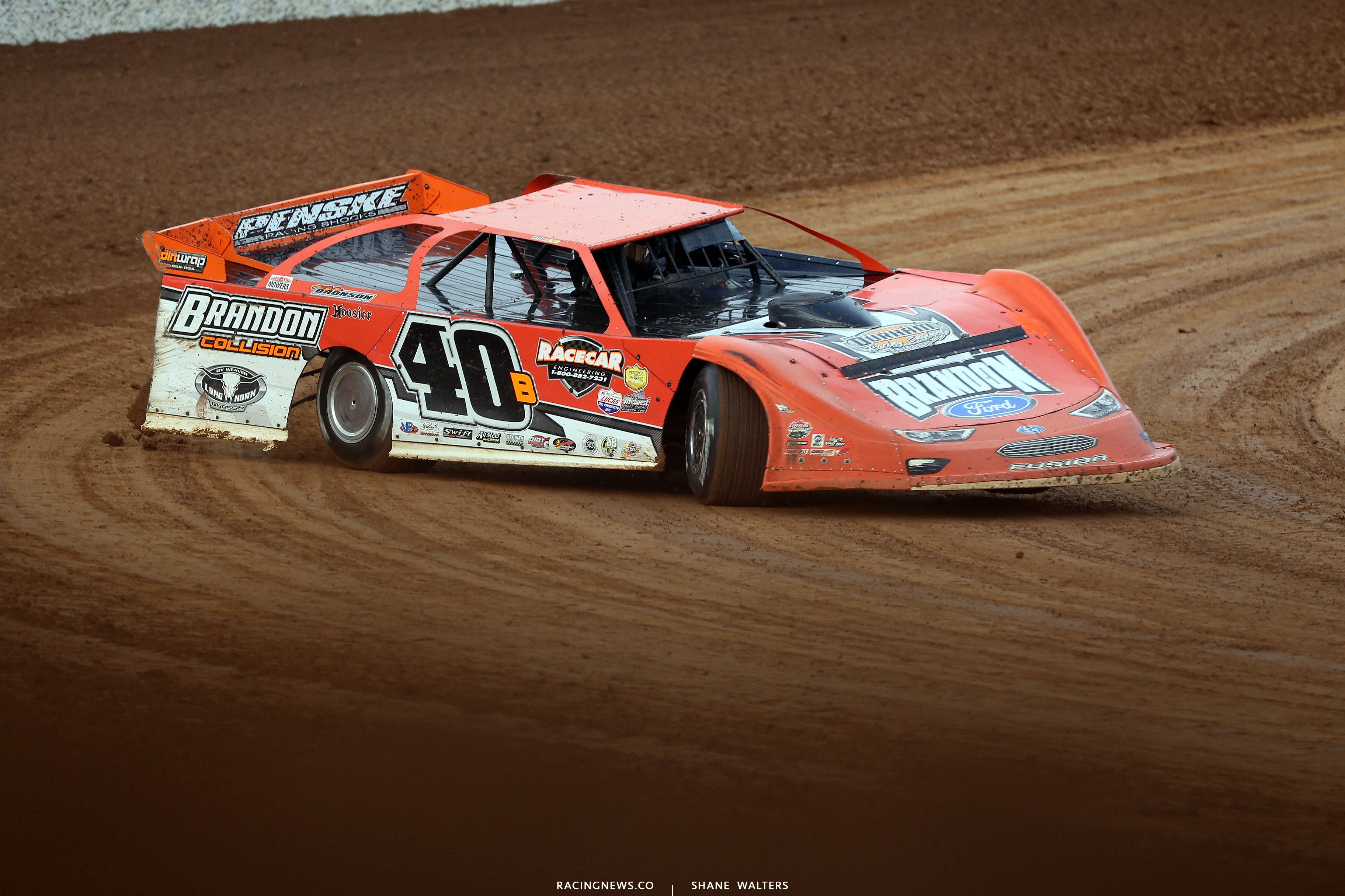 Kyle Bronson at Lucas Oil Speedway 8046