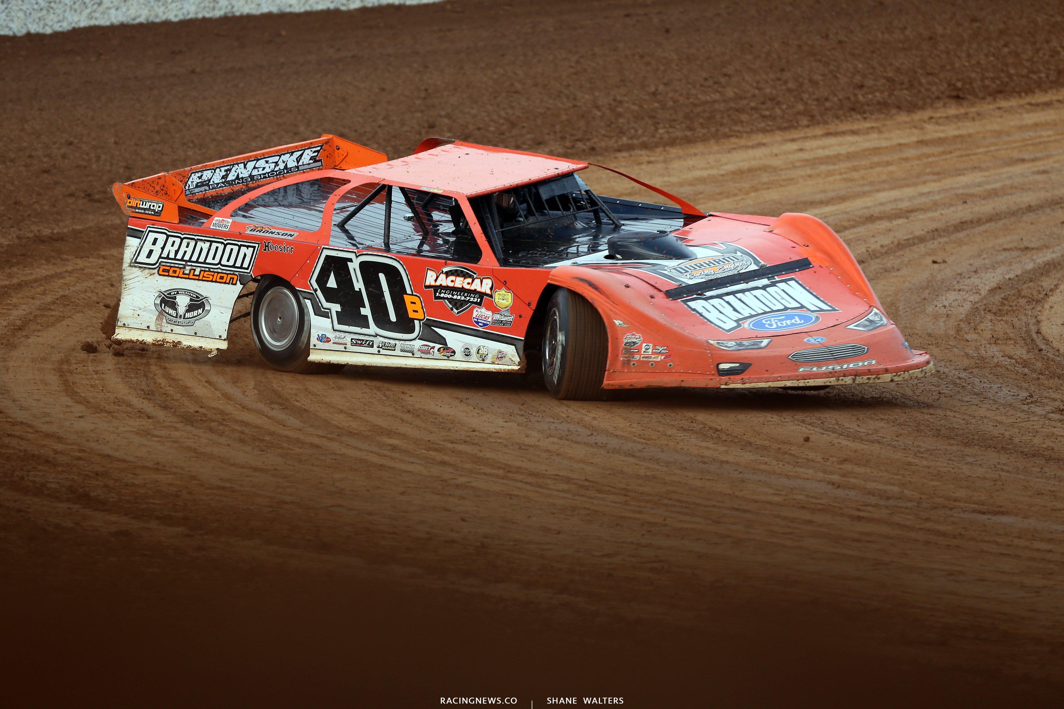 Kyle Bronson at Lucas Oil Speedway 8046