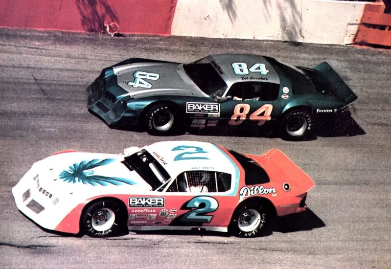 Mark Martin and Bob Senneker