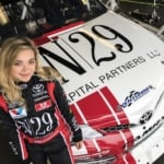 Natalie Decker at Daytona International Speedway - ARCA Racing Series