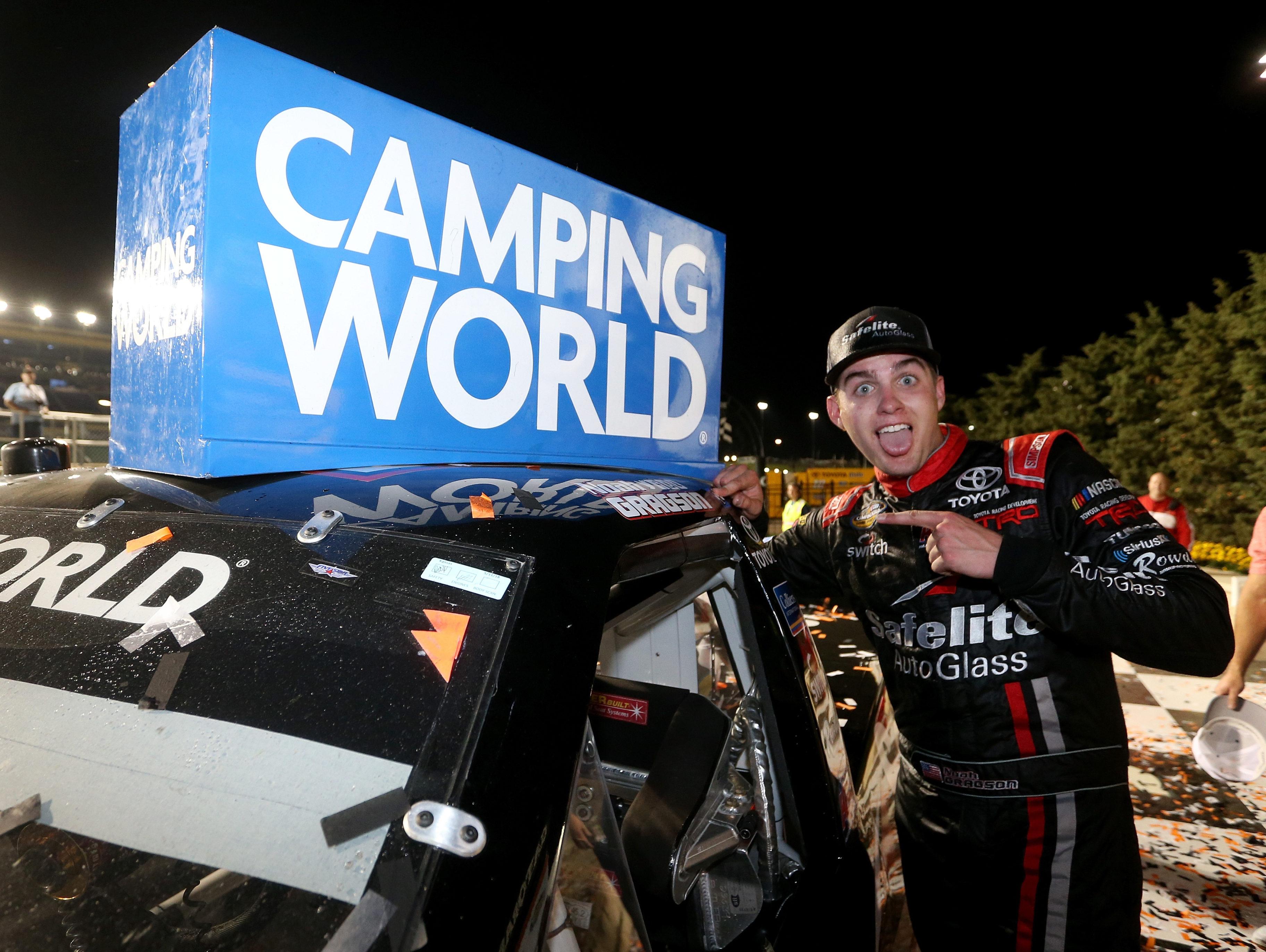 Noah Gragson wins the NASCAR Truck Series