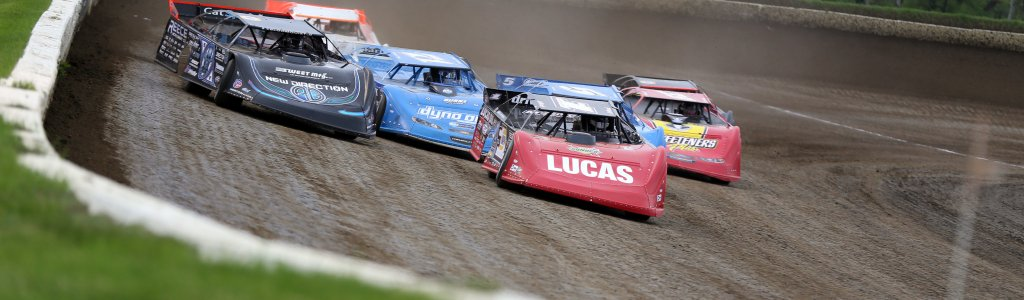 How does a track get on the Lucas Oil Late Model Dirt Series schedule?