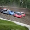 Scott Bloomquist, Earl Pearson Jr, Don O'Neal, Hudson O'Neal and Tim McCreadie at Deer Creek Speedway 6966