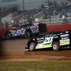 Scott Bloomquist and Jimmy Owens at Lucas Oil Speedway 7891