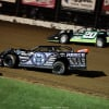 Scott Bloomquist and Jimmy Owens at Lucas Oil Speedway 8993