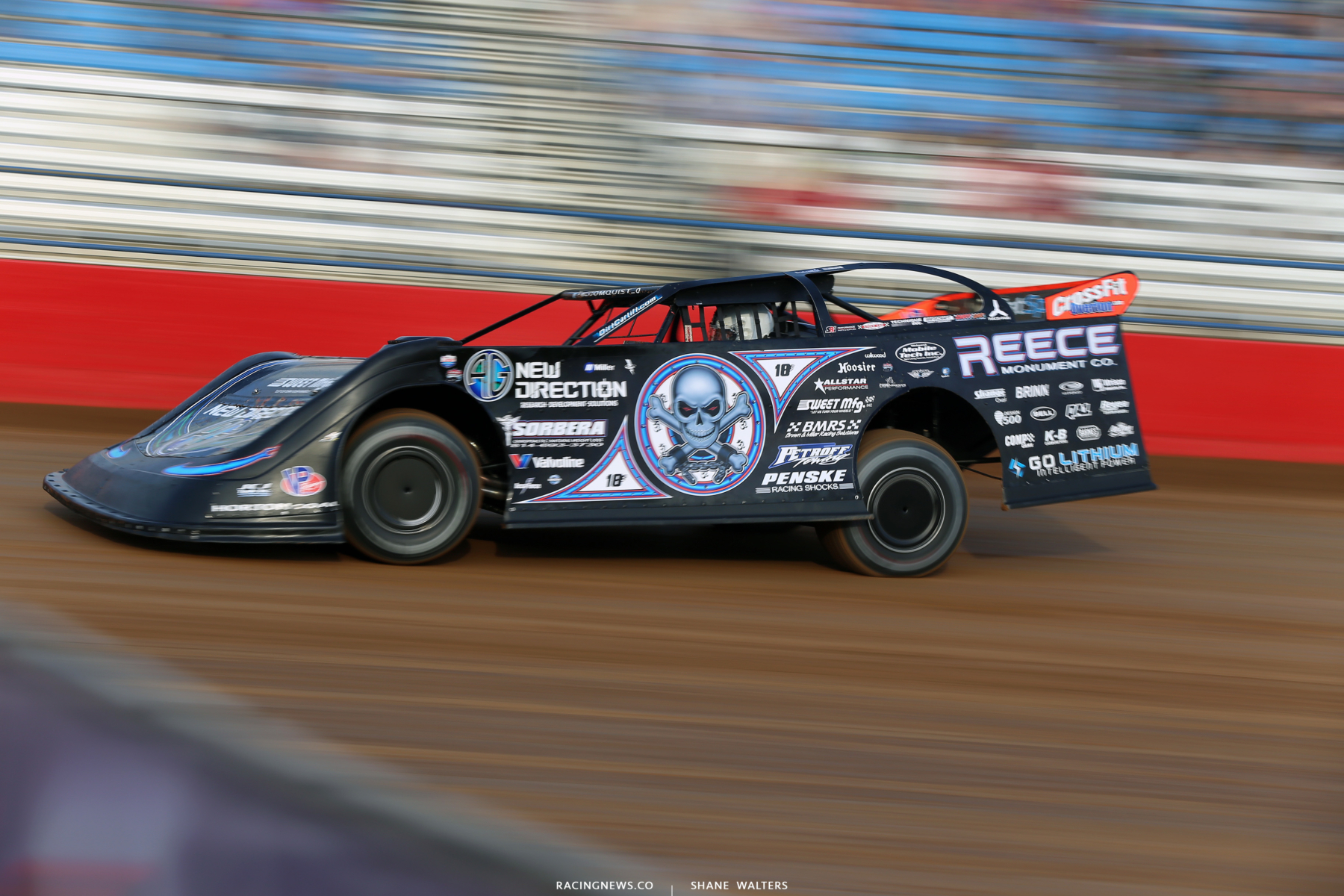 Scott Bloomquist at Lucas Oil Speedway 7472