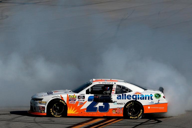 Spencer Gallagher - Allegiant Airlines NASCAR race car