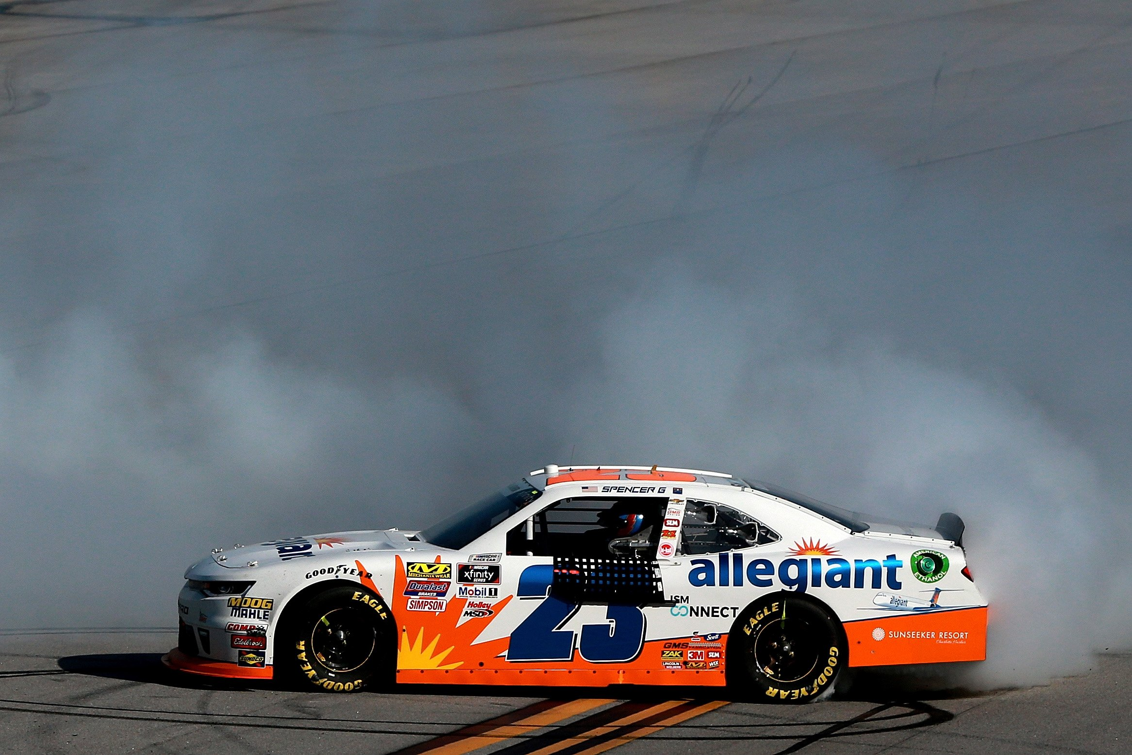 Spencer Gallagher - Allegiant Airlines NASCAR race car