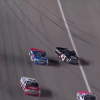 Stewart Friesen and Kyle Busch at Kansas Speedway