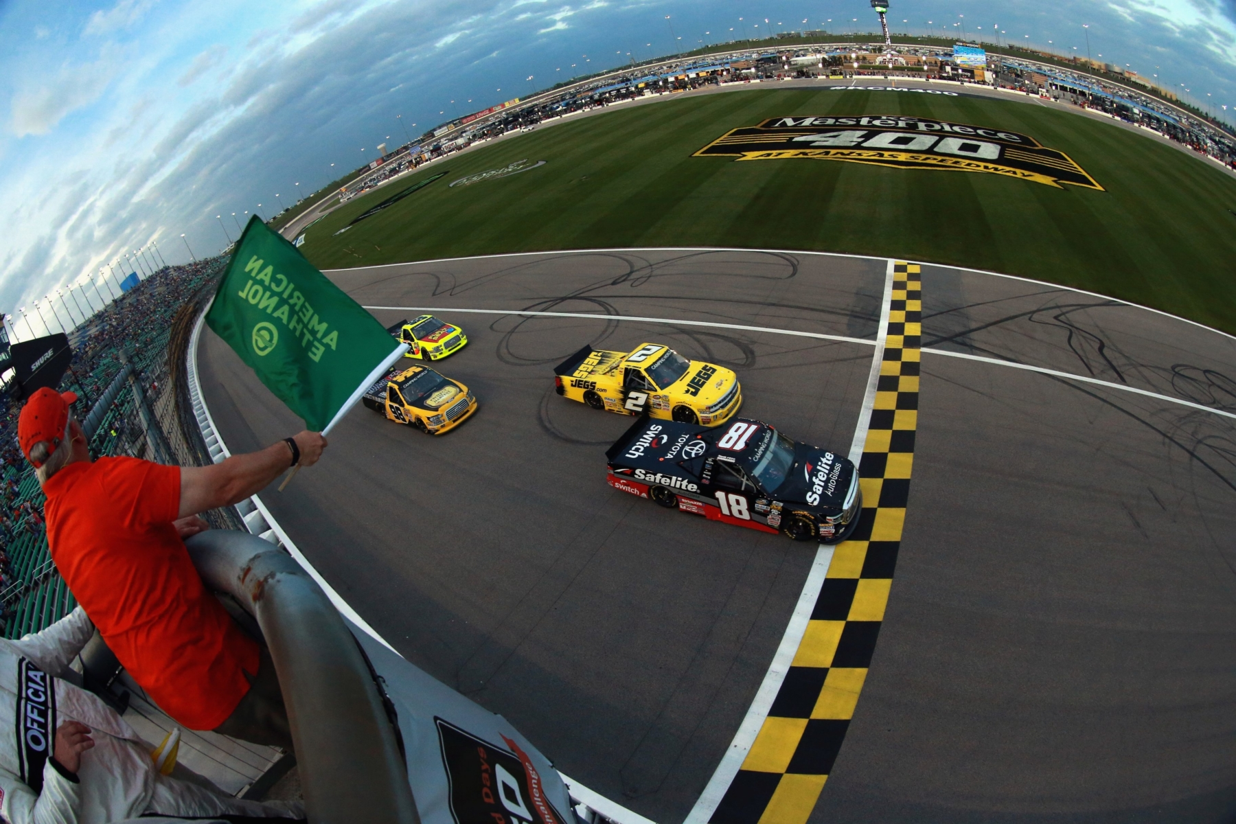 The NASCAR Truck Series at Kansas Speedway