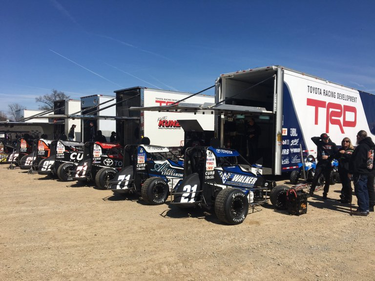 Toyota Racing Development - Dirt Midgets