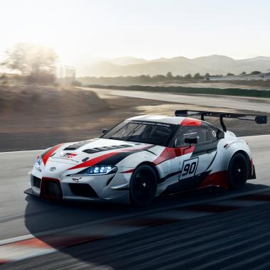 Toyota Super race car