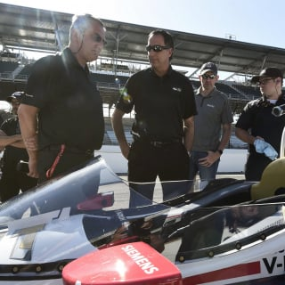Verizon Indycar Series windscreen photos