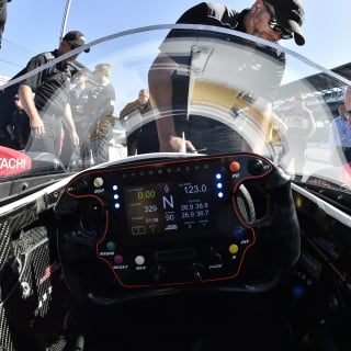 Verizon Indycar windscreen photos - Indianapolis Motor Speedway test