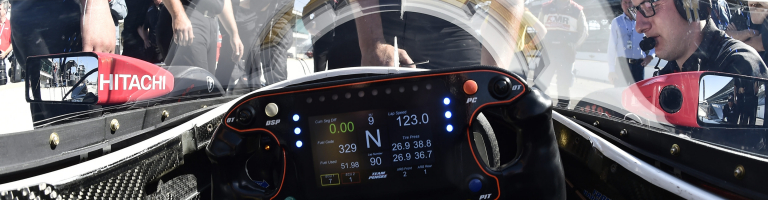 IndyCar windscreen photos from the first on-track test