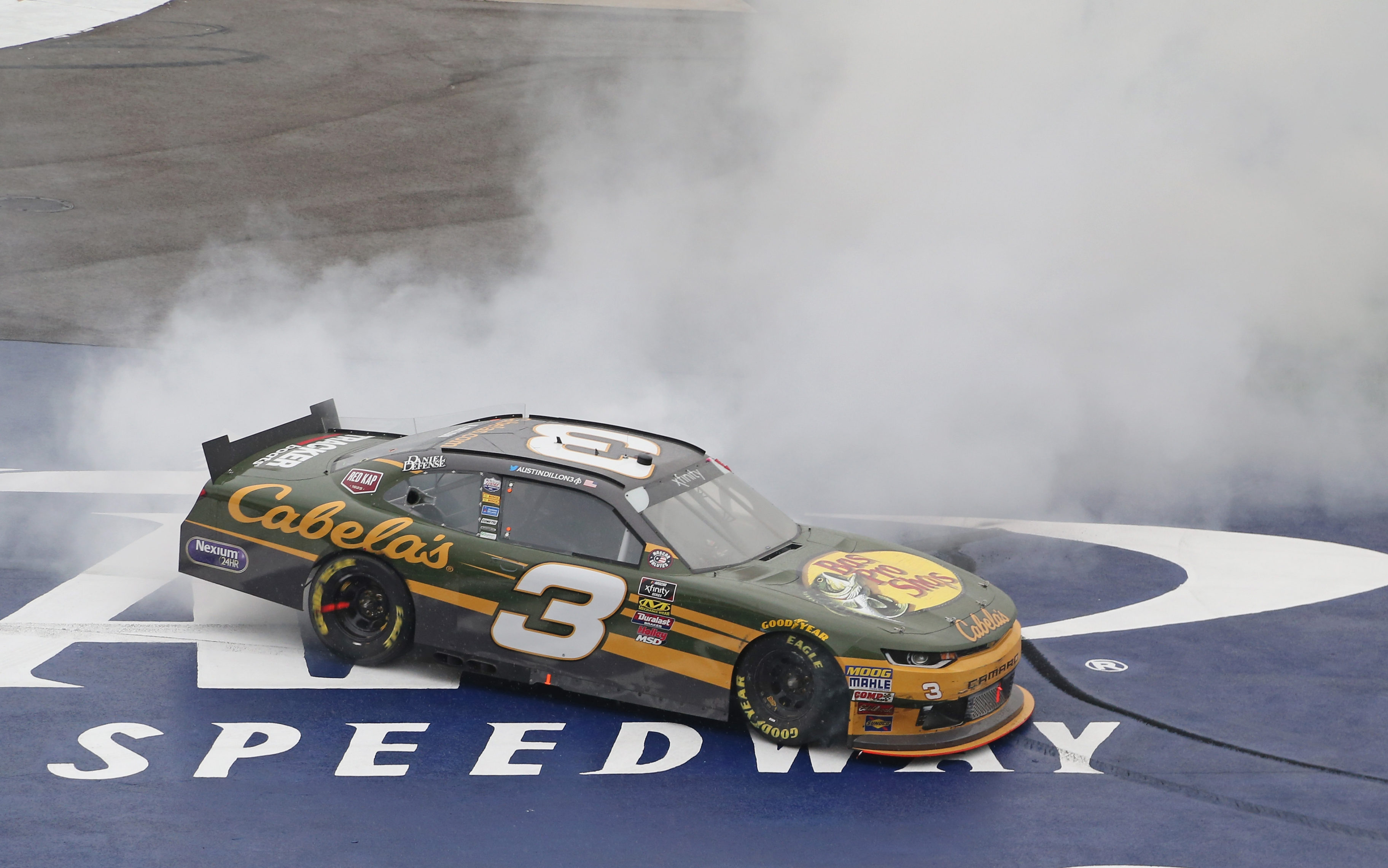 Austin Dillon wins at Michigan International Speedway