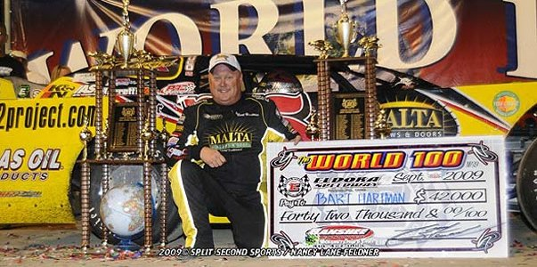 Bart Hartman inducted into Midway Speedway Hall of Fame