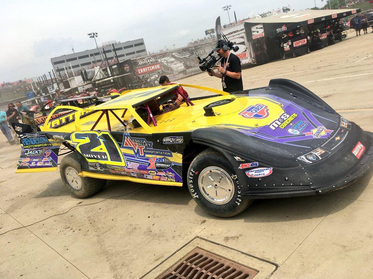 Billy Moyer Jr- at Eldora Speedway