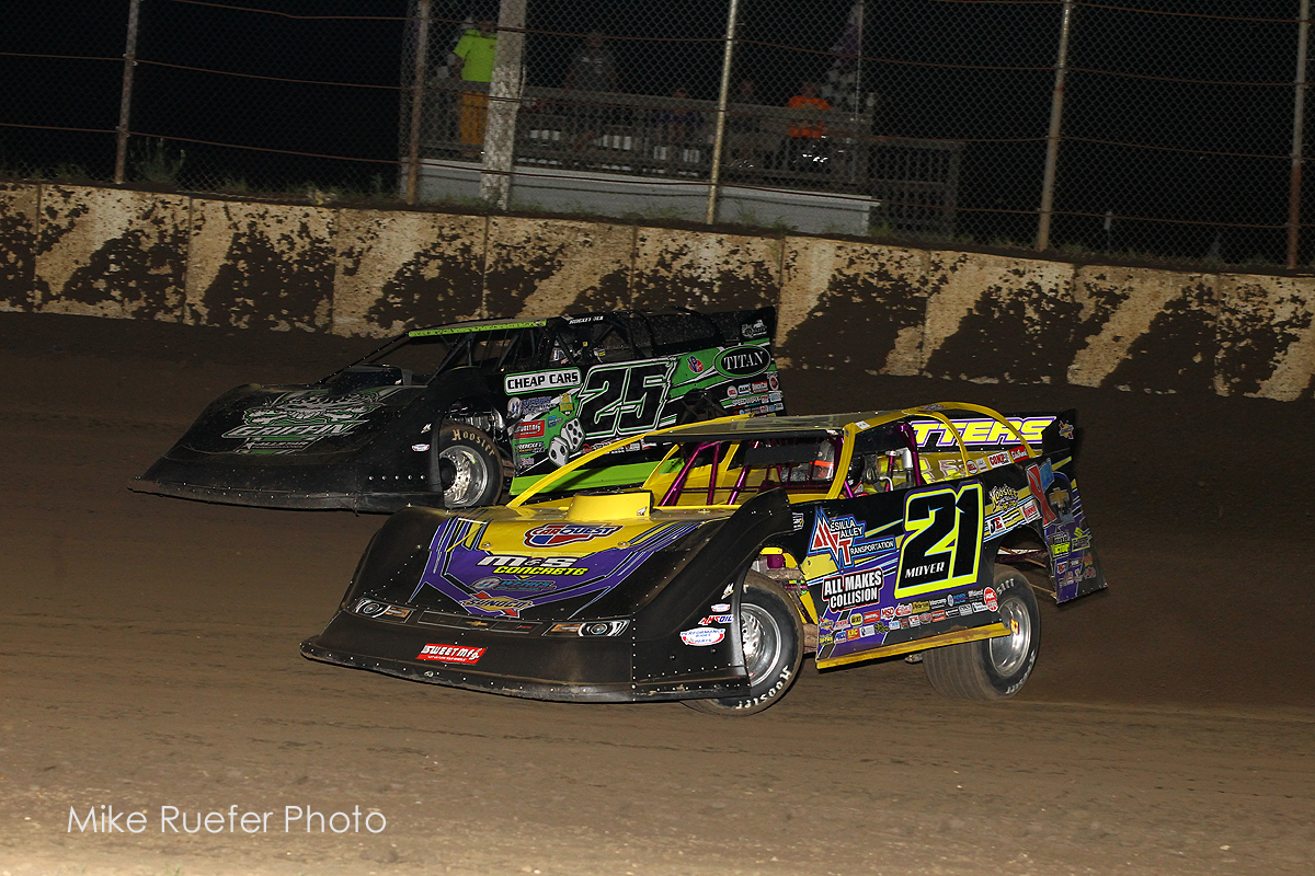 Billy Moyer at LaSalle Speedway
