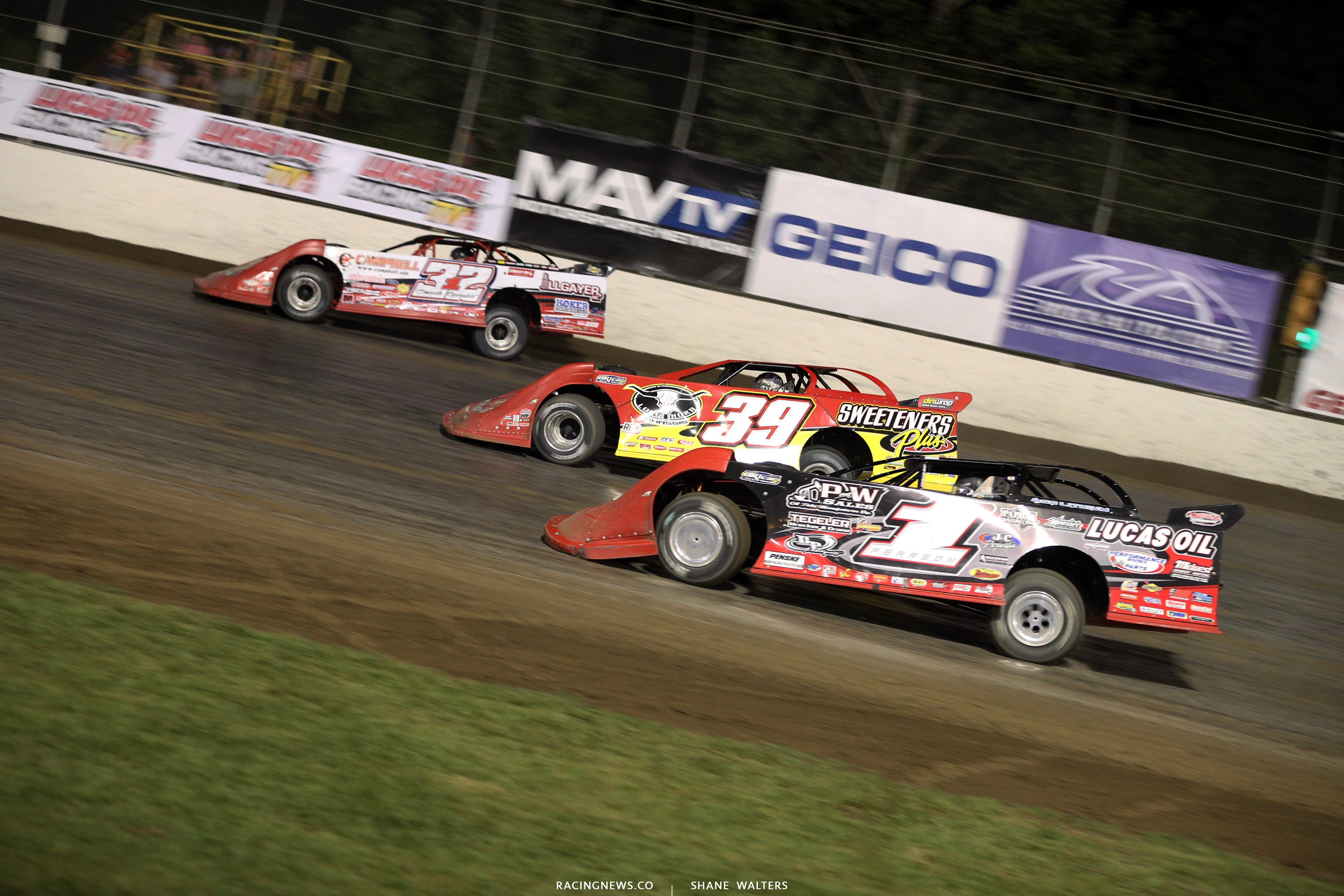 Bobby Pierce, Tim McCreadie and Earl Pearson Jr 9608