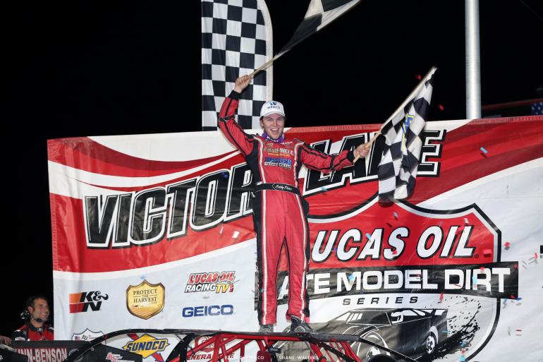 Bobby Pierce wins at Tri-City Speedway