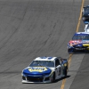 Chase Elliott, Kyle Busch, Kyle Larson and Jamie McMurray at Sonoma Raceway