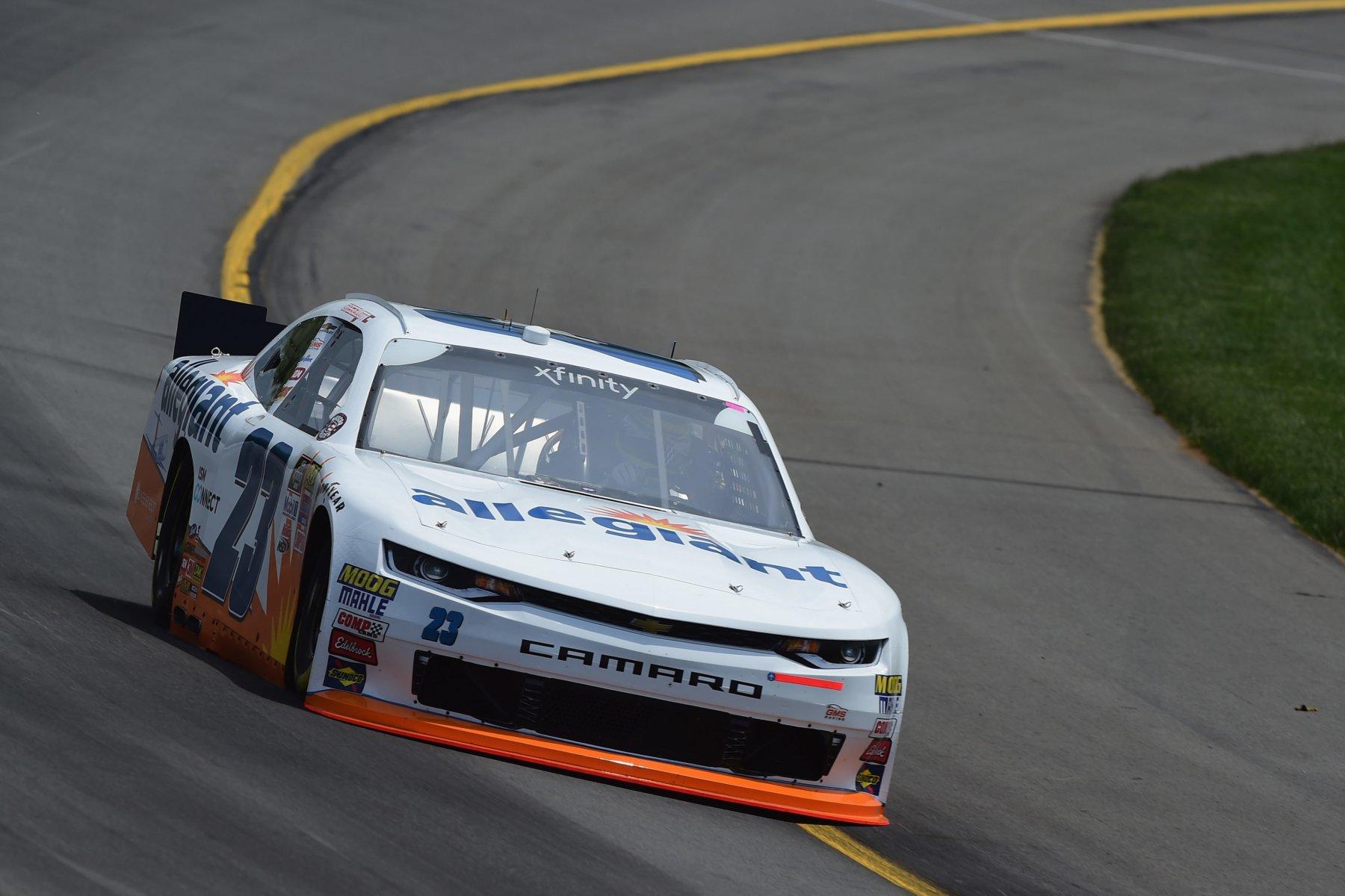 Chase Elliott at Pocono Raceway in the NASCAR Xfinity Series #23
