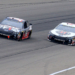 Clint Bowyer and Kevin Harvick at Michigan International Speedway