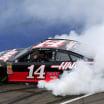 Clint Bowyer burnout - Michigan International Speedway