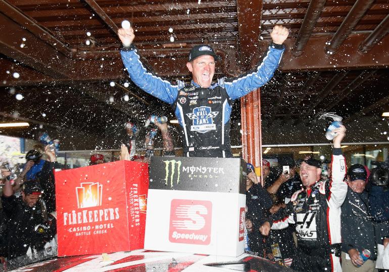 Clint Bowyer wins Michigan - NASCAR