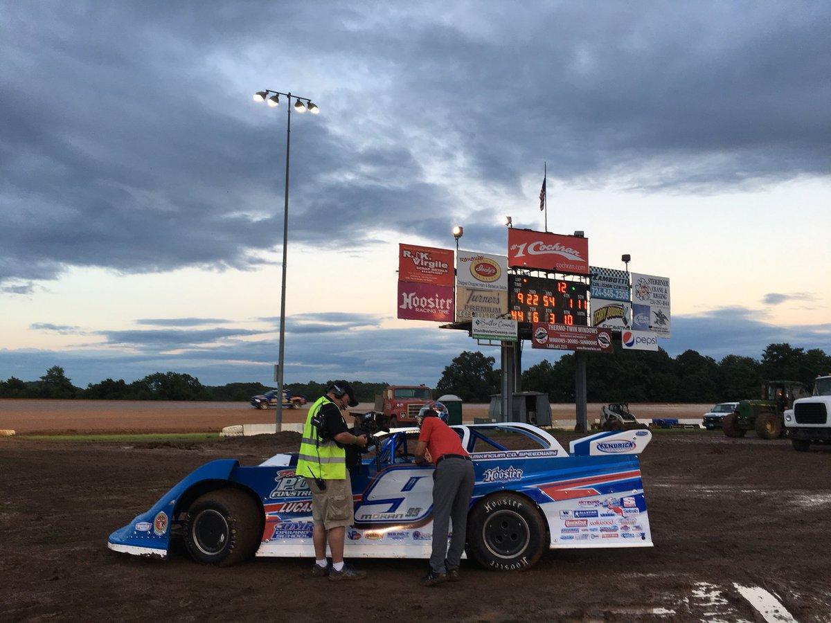 Devin Moran at Lernerville Speedway