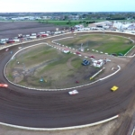 Farley Speedway - Drone photo