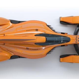 Future McLaren F1 car