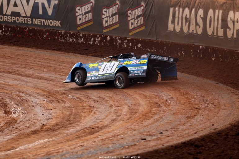 Jesse Stovall at Lucas Oil Speedway 8212