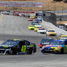Jimmie Johnson and Kyle Busch at Sonoma Raceway