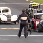Johnny Sossoman vs Robby Faggart at Charlotte Motor Speedway