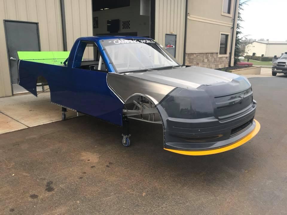 Jordan Anderson - Brad Keselowski Racing truck